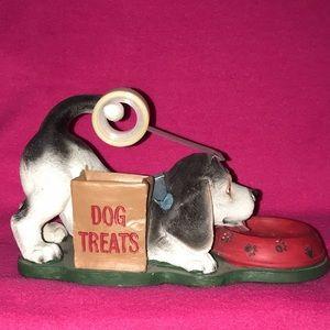 Dog desk tape holder/pen holder/misc item holder